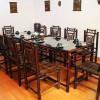 Mẫu bàn ghế tre nhà hàng thông dụng