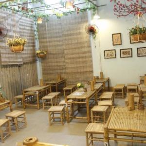 Bàn ghế tre nhà hàng bền đẹp giá rẻ