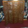 Bình phong gỗ khắc