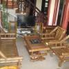 Bàn ghế tre trúc màu tự nhiên