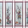 Bộ tranh tre tứ quý bốn mùa Xuân Hạ Thu Đông