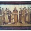 Tranh tre Đạo Thiên Chúa cao cấp (80cm x 50cm)