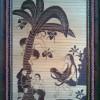 Tranh tre hứng dừa (50cm x 70cm)