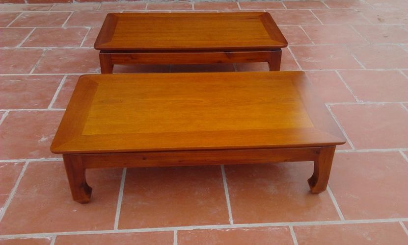 bàn osin kiểu Nhật gỗ xoan đào