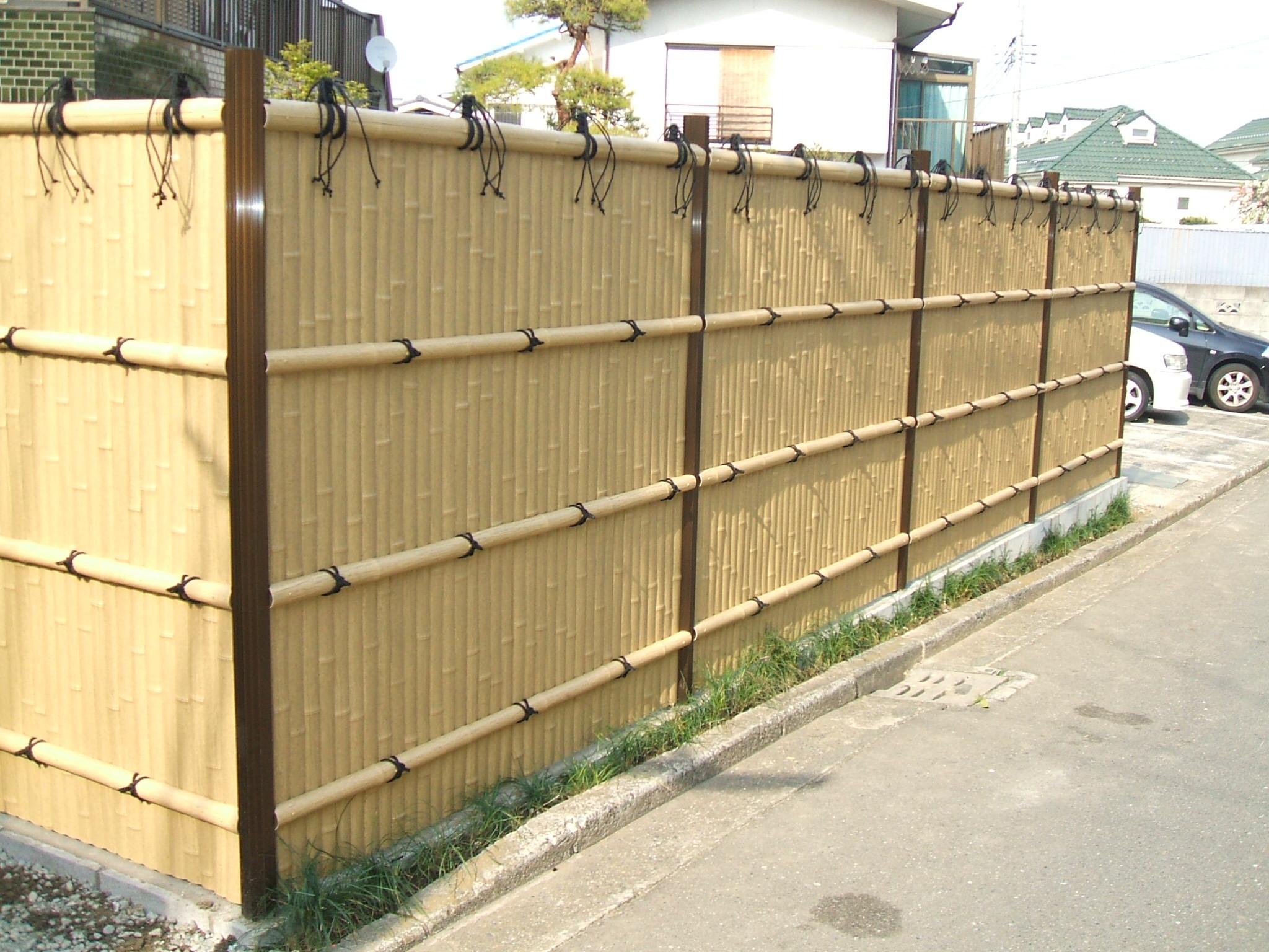 Hàng rào tre trúc
