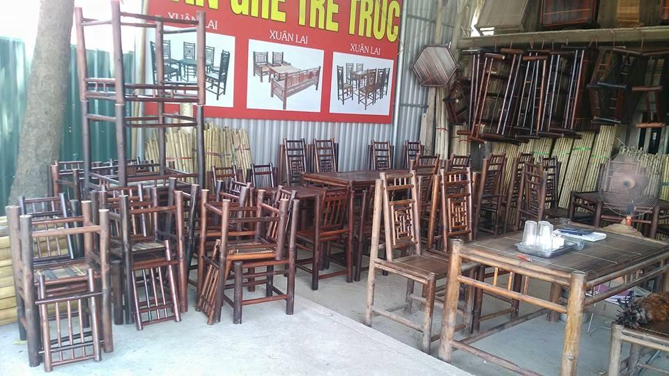 Luôn sẵn sàng phục vụ - Với tổng kho nội thất, bàn ghế tre lớn nhất