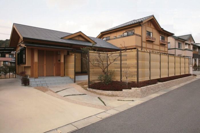 Kiến trúc hàng rào tre trúc theo phong cách Nhật Bản