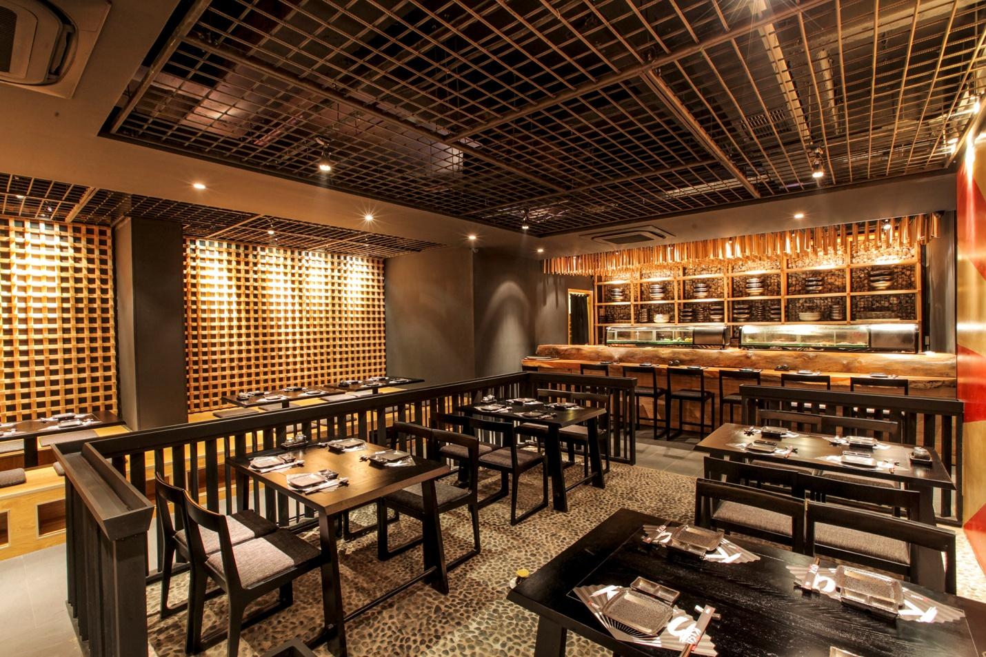 Nhà hàng tre trúc phong cách Nhật Bản