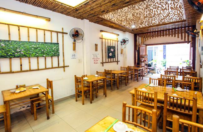 Thi công thiết kế nội thất tre trúc cho nhà hàng